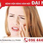 Bị ê buốt sau khi bọc răng sứ - cách chữa trị