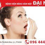 Nguyên nhân của hôi miệng và cách chữa hiệu quả
