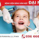Chăm sóc răng miệng cho trẻ em tại nha khoa Đinh Tiên Hoàng