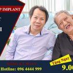 Tặng ngay 9 triệu khi cấy ghép implant