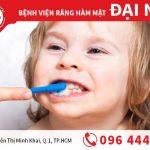 Cách chải răng đúng chuẩn nha khoa